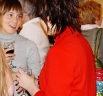 Guests socialising at the Riptide volume 5 launch