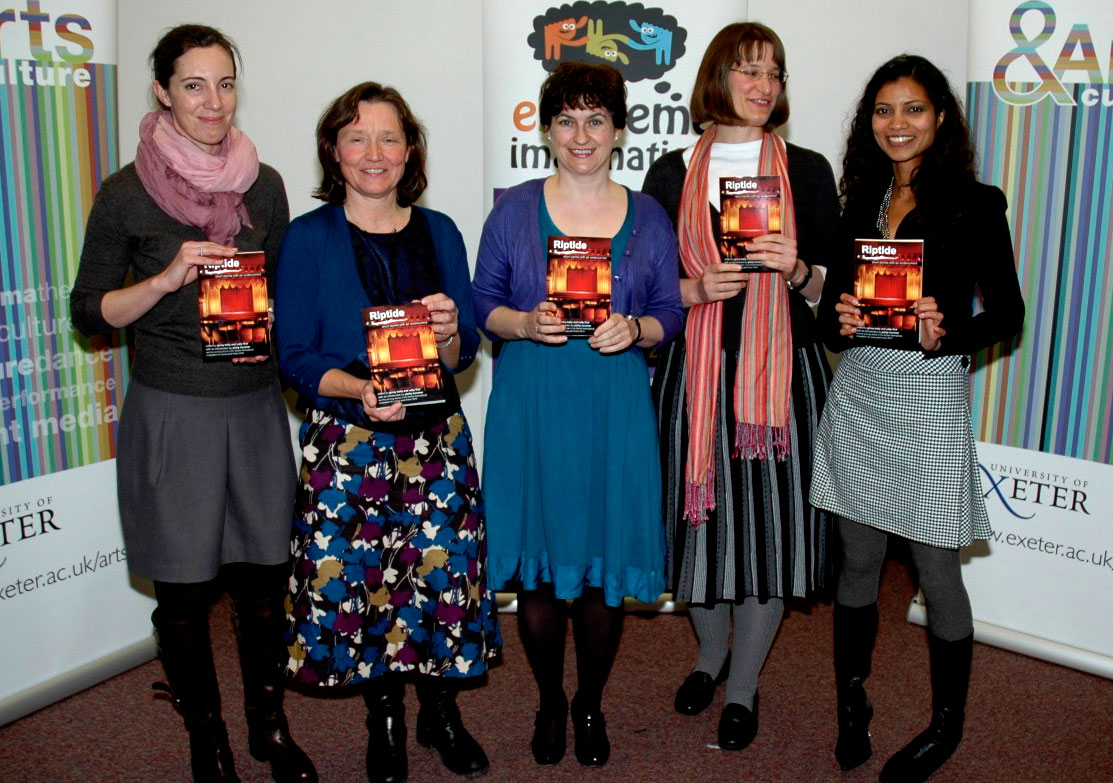Five of the winners from the Riptide international short story prize